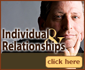 Individual and Relationship Counseling and Therapy.