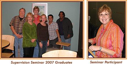 Supervision Seminar 2007 Graduates.