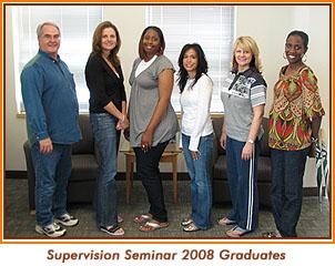 Supervision Seminar 2008 Graduates.